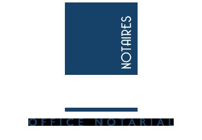 logo notaires 1804 elbeuf seine blanc